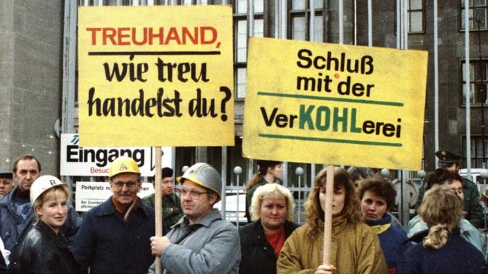 DDR, Treuhand 1992 DDR