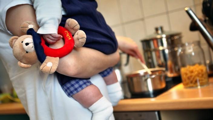 Care-Arbeit Kind Kochen
