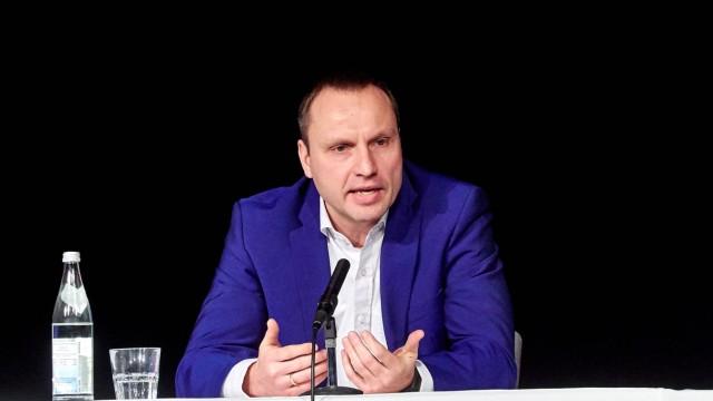 Kandidatenpodium BGM Wahl Markt Schwaben