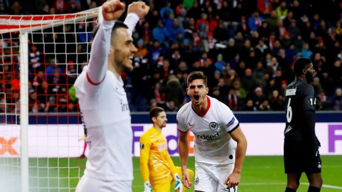 Europa League - Round of 32 Second Leg - FC Salzburg v Eintracht Frankfurt