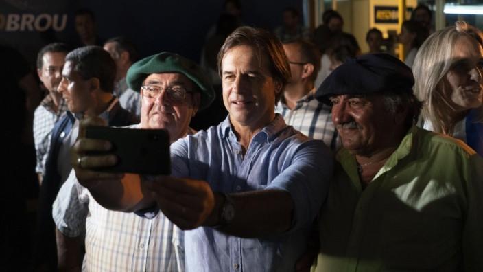 Amtsantritt des uruguayischen Präsidenten Lacalle Pou