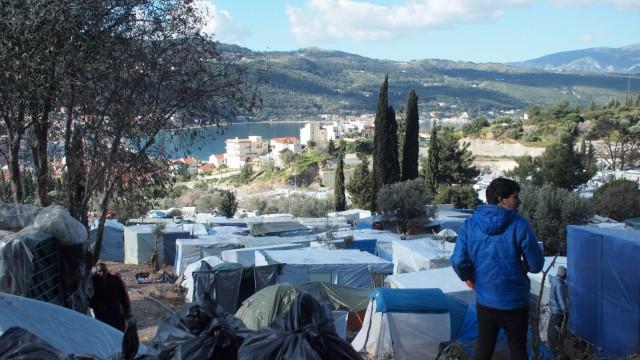 Samos: Flüchtlinge