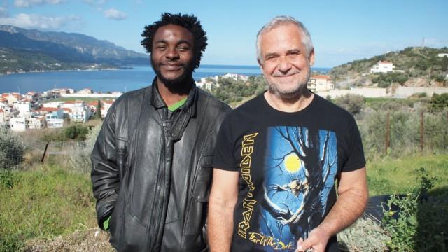 Didier Tchakounte und Giannis Meletiou