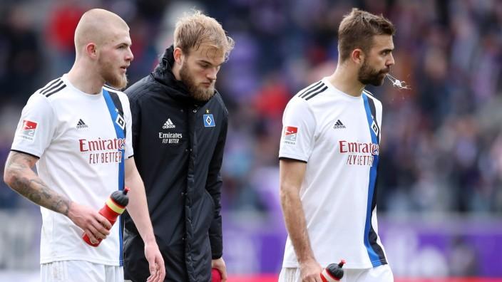 FC Erzgebirge Aue v Hamburger SV - Second Bundesliga