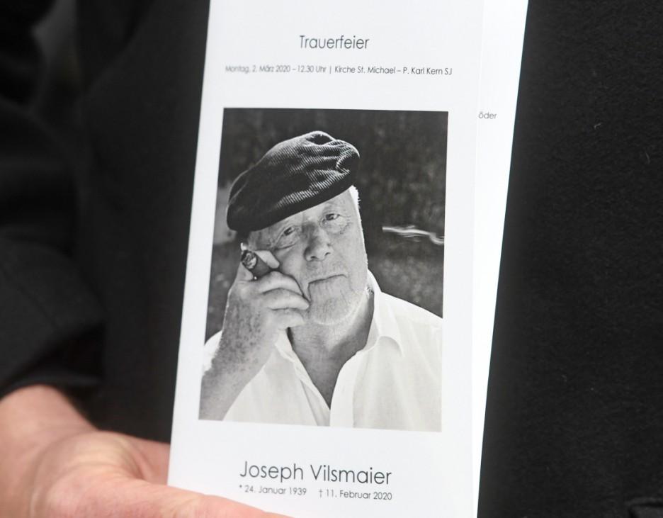 Trauerfeier für Joseph Vilsmaier