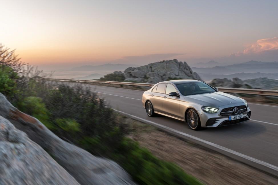 Ab Sommer: Mercedes fährt aufgefrischte E-Klasse vor