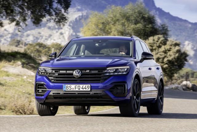 VW im Sportfieber:Neue Golf GT-Modelle und Touareg R