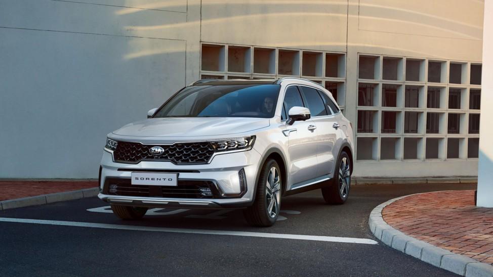 Kantiger SUV: Neuer Kia Sorento kommt im Sommer