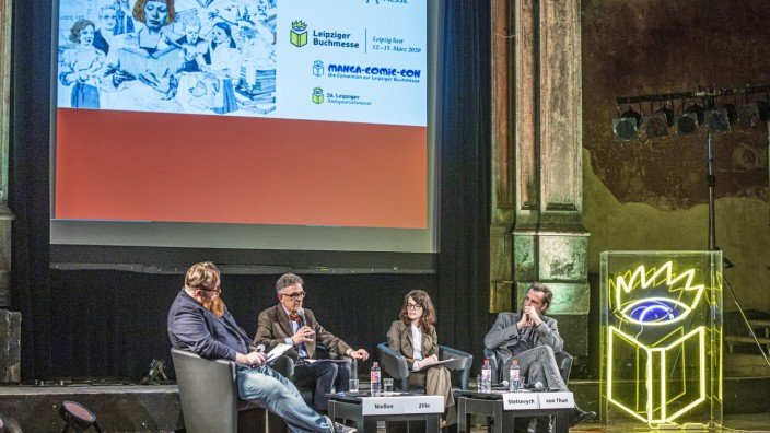 Vorab-Pressekonferenz zur Leipziger Buchmesse 2020