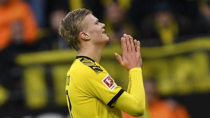 BVB-Stürmer Erling Haaland