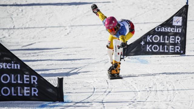 Sport Bilder des Tages SNOWBOARD - FIS WC Bad Gastein BAD GASTEIN,AUSTRIA,15.JAN.20 - SNOWBOARD - FIS World Cup, Mixed P; Wintersport - Snowboard - Ramona Hofmeister