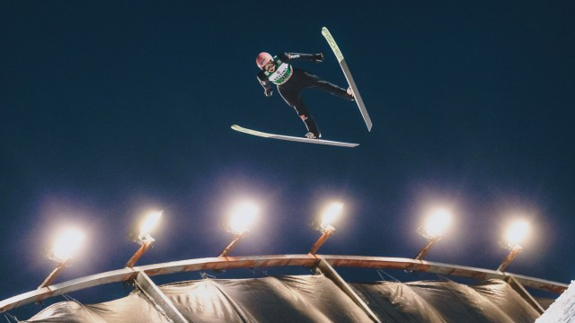 01.03.2020, Salpausselkae Hill, Lahti, FIN, FIS Weltcup Ski Sprung, Herren, im Bild Karl Geiger (GER) // Karl Geiger of