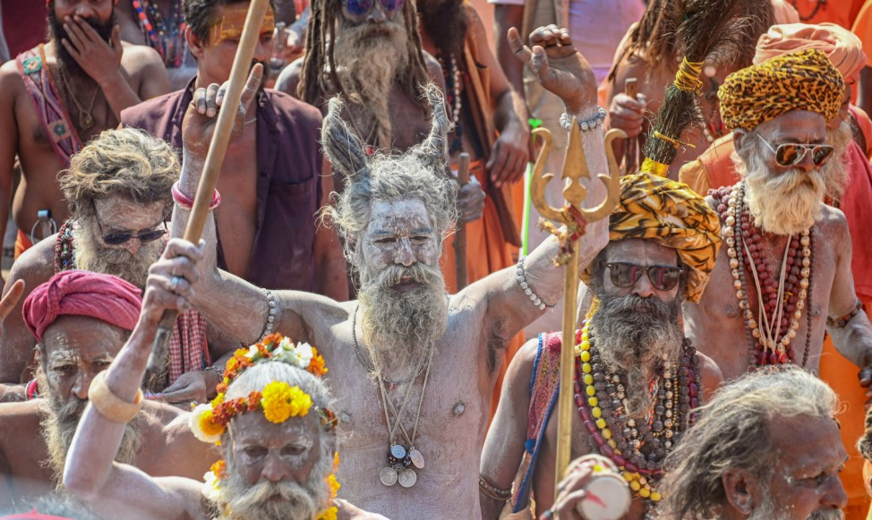 'Narmada Gau Kumbh'- Fest in Indien