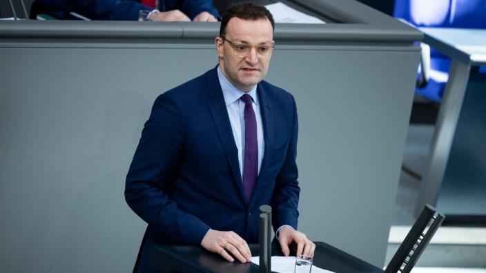 Bundestag - Regierungserklärung zu Coronavirus