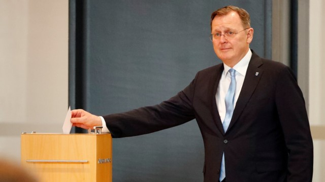 Thuringia's state parliament elects new State Premier in Erfurt