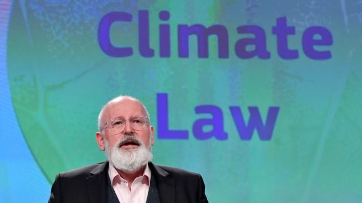 EU-Klimakommissar Frans Timmermans