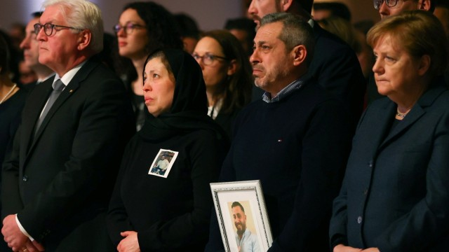 Memorial service for the victims of the shootings in Hanau