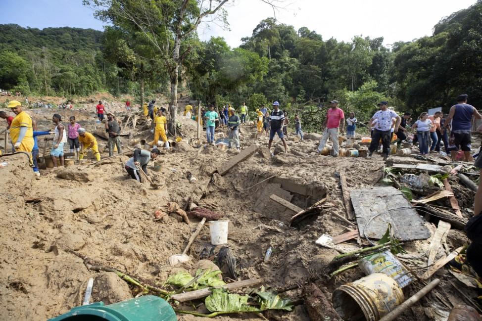 Extreme Regenfälle in Brasilien