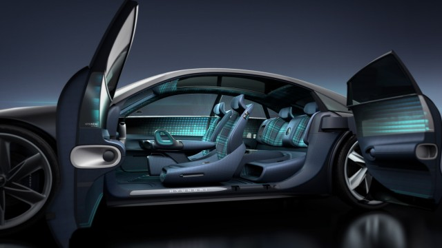 SPERRFRIST beachten: Elektro-Konzeptfahrzeug Hyundai Prophecy Pressebilder