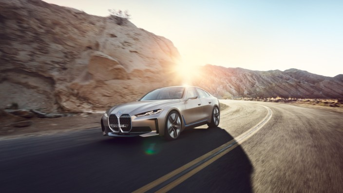 BMW i4 Concept, Copyright BMW, Online-Rechte frei