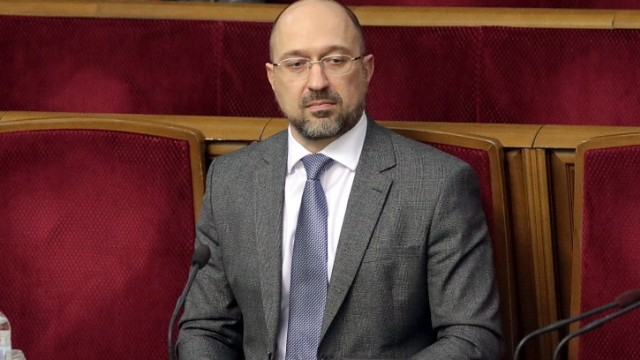 KYIV, UKRAINE - MARCH 04, 2020 - Newly-appointed Prime Minister of Ukraine Denys Shmyhal is pictured during the sitting