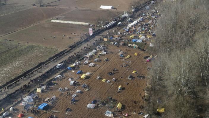 Flüchtlinge Türkei Griechenland Grenze