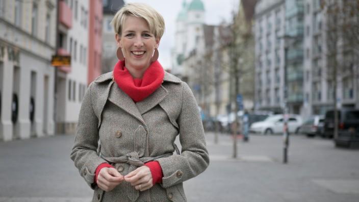 Katrin Habenschaden, OB-Kandidatin der Grünen