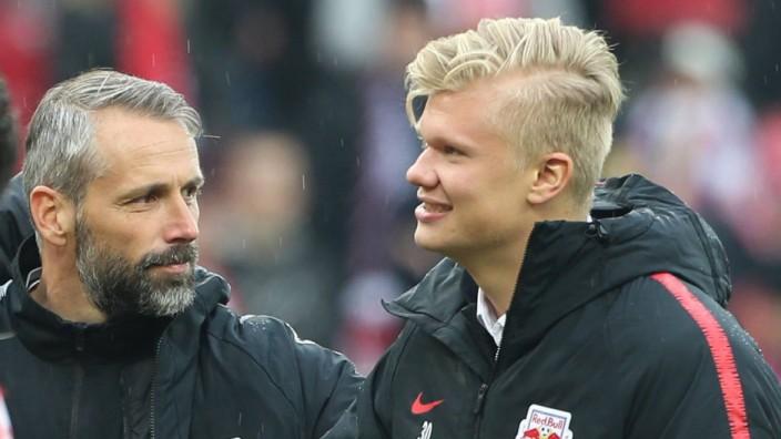SOCCER BL RBS vs Sturm SALZBURG AUSTRIA 14 APR 19 SOCCER tipico Bundesliga championship grou