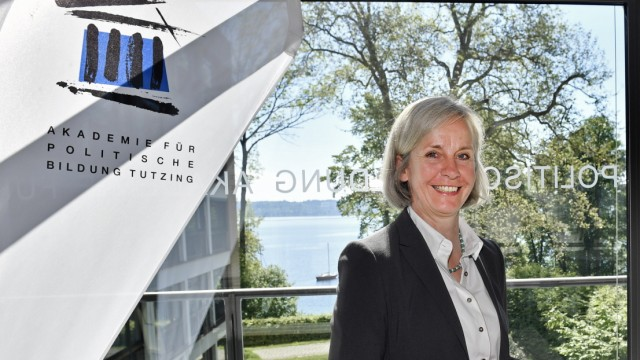 Ursula Münch in der Akademie für Politische Bildung in Tutzing, 2017
