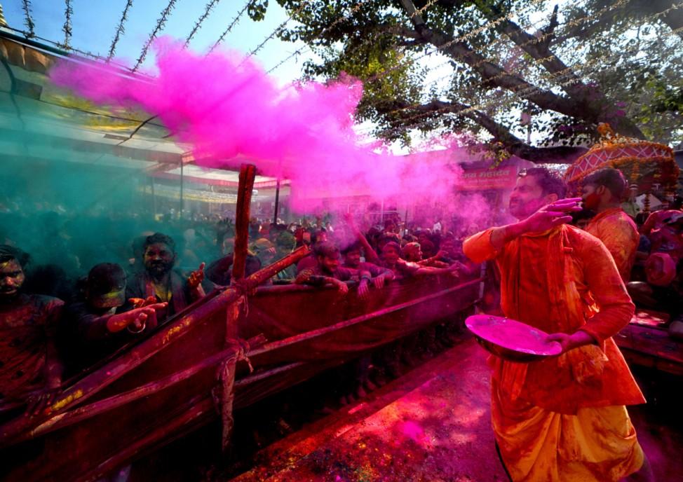 Holi-Festival in Indien