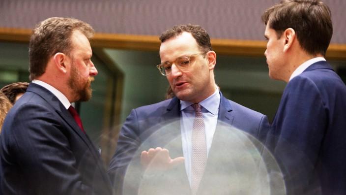 Sondertreffen der EU-Gesundheitsminister
