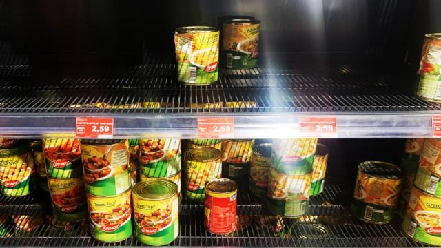 Coronavirus - Supermarkt