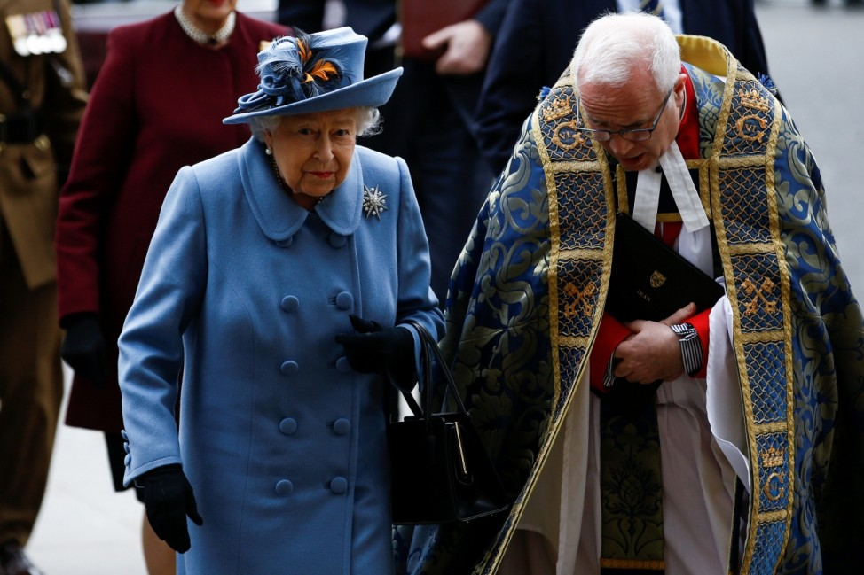 Annual Commonwealth Service at Westminster Abbey in London