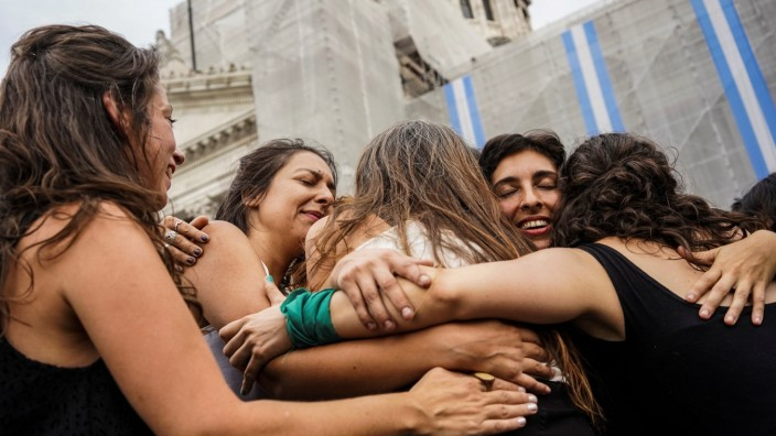 International Women's Day in Buenos Aires