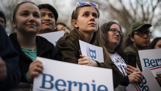 Sanders Ann Harbor US-Wahl