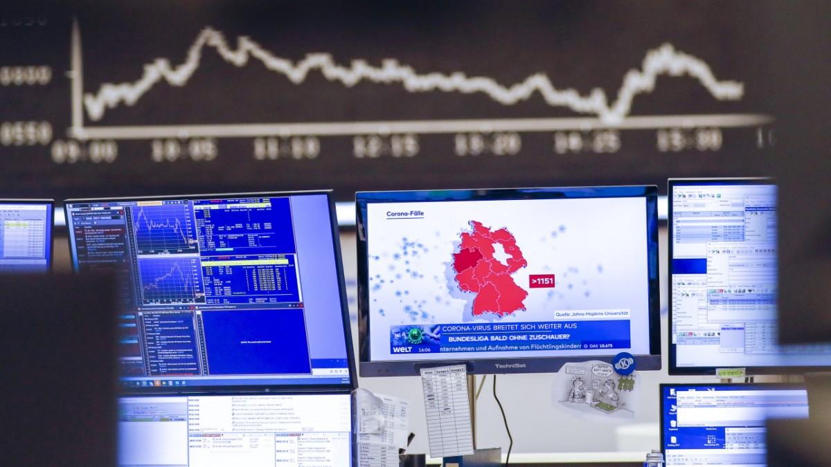 Corona und Börse: Warum der Aktienindex Dax einbricht