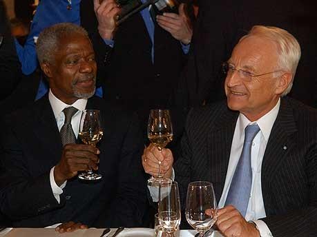 Sicherheitskonferenz Stoiber Annan