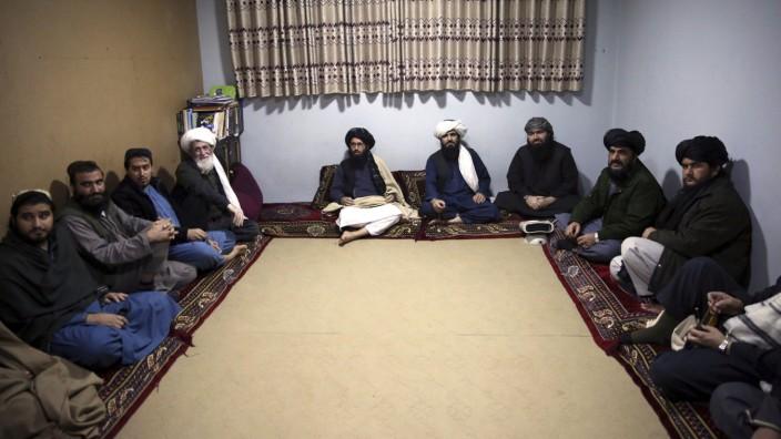 Gefangene Taliban in Kabul
