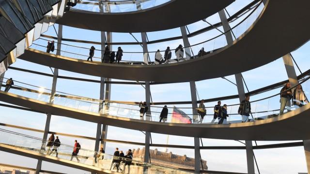 Coronavirus - Bundestag schließt Reichstagskuppel