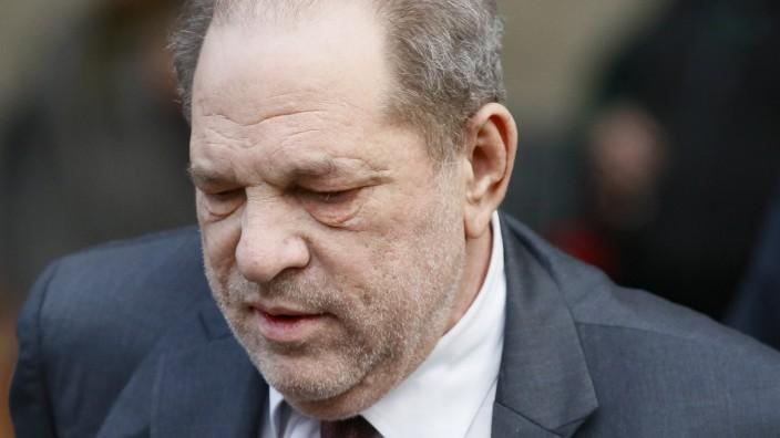 Filmproduzent Weinstein
