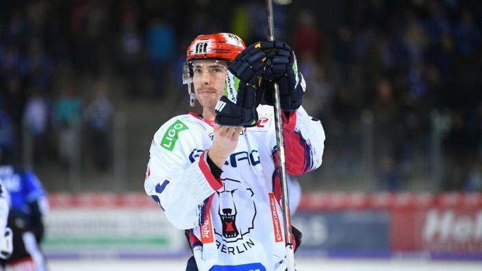 Marcel Noebels (Eisbaeren Berlin) GER, Eishockey, DEL, Schwenninger Wild Wings - Eisbaeren Berlin, 19.01.2020 Villingen-; Marcel Noebels
