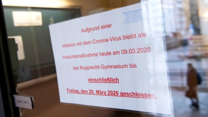 Coronavirus - Schule in München geschlossen