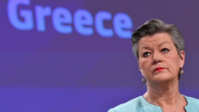 Flüchtlinge: Ylva Johansson aus Schweden ist EU-Innenkommissarin.