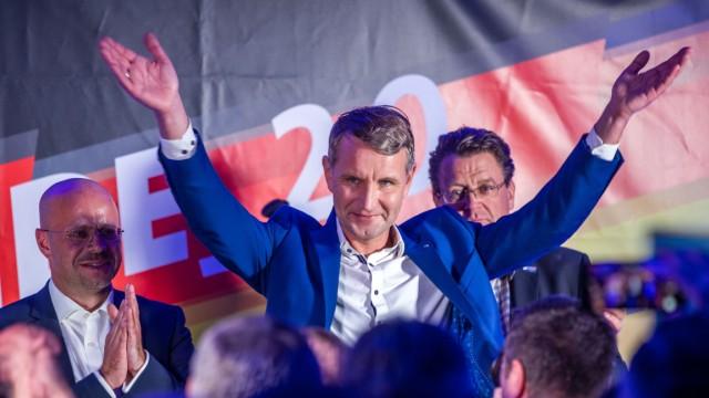 Höcke kandidiert bei Ministerpräsidentenwahl