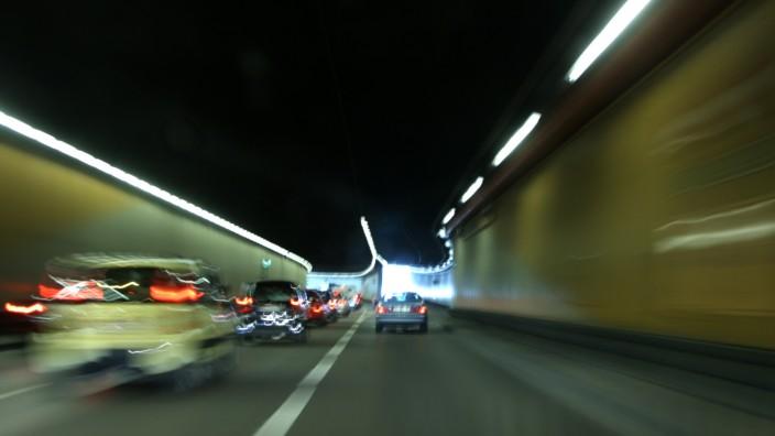 Brudermühltunnel in München, 2009