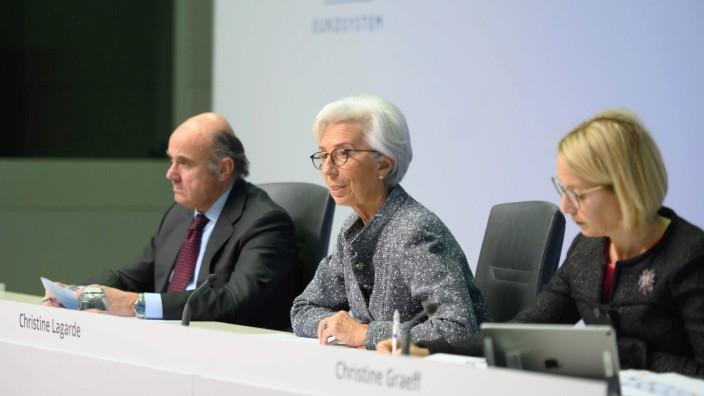 Pressekonferenz EZB-Präsidentin Lagarde