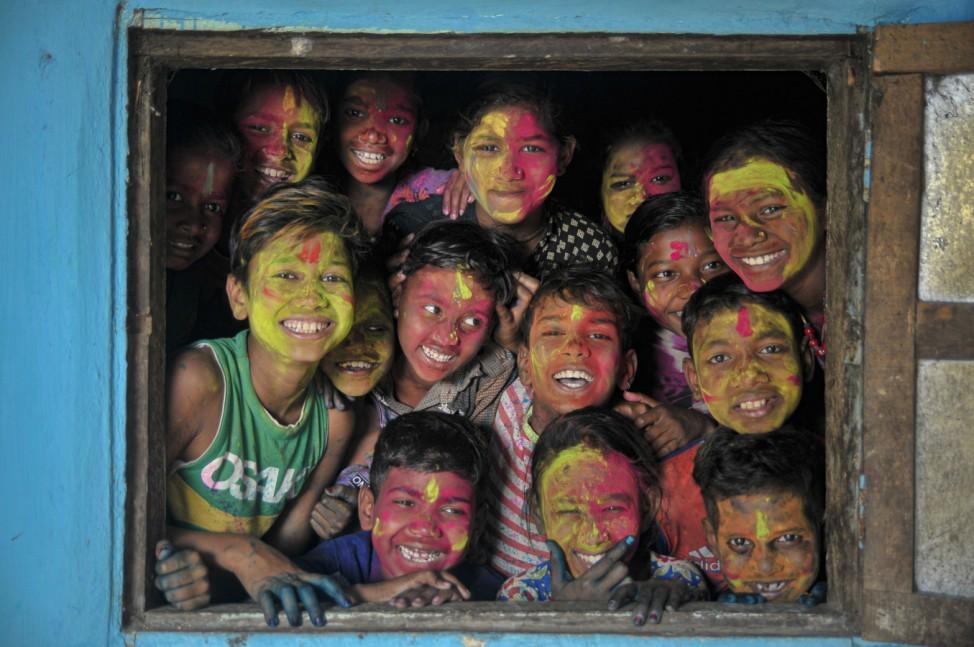 Holi-Fest in Bangladesch