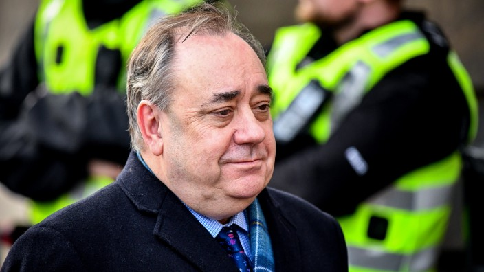 Alex Salmond Returns To Court In Sex Offence Case