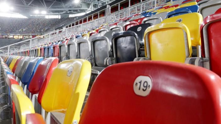 Leeres Stadion: Fortuna ohne Publikum gegen Paderborn