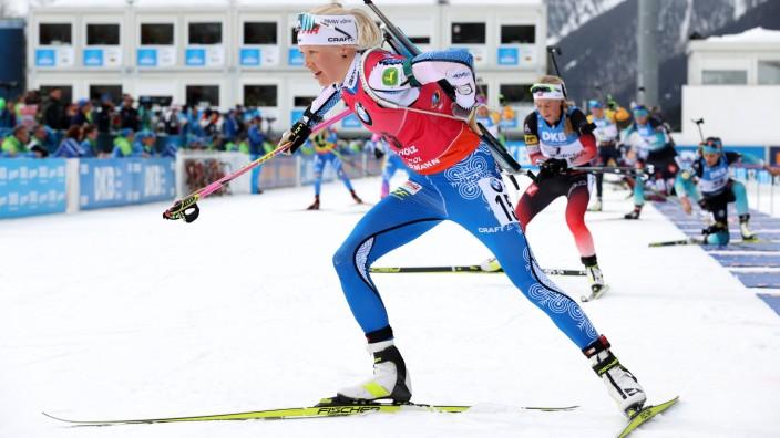 IBU World Championships Biathlon Antholz-Anterselva - Women 12.5 km Mass Start Competition